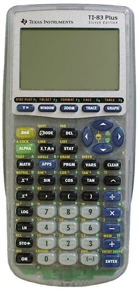 Texas Instruments TI-83 Plus Silver Edition SE Graphing Graphic Calculator