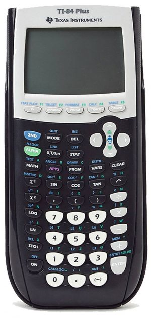 Texas Instruments TI-84 Plus Graphing Graphic Calculator