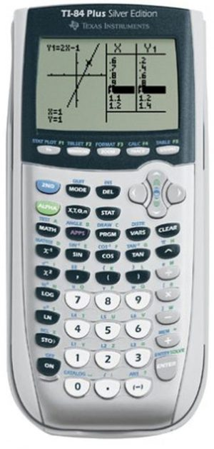 Texas Instruments TI-84 Plus Silver Edition Graphing Graphic Calculator
