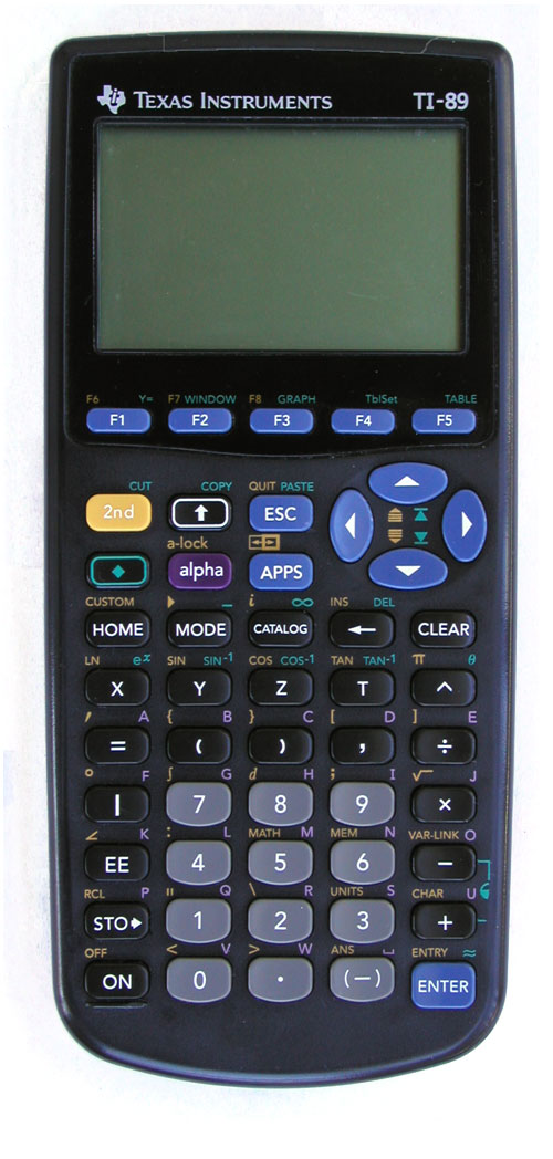 Texas Instruments TI-89 Graphing Graphic Calculator