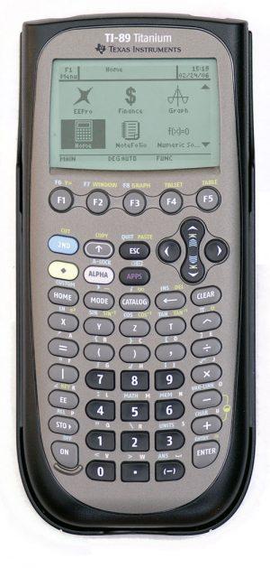 Texas Instruments TI-89 Titanium Graphing Grapic Calculator