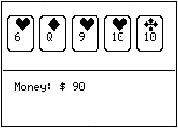 Ti 84 poker